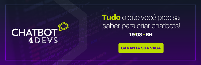 chatbot4devs banner - post programação do Chatbot4Devs